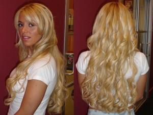 coiffure extension cheveux